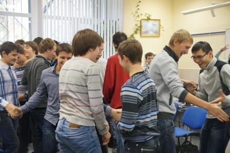 Тренинг Знакомство Студентов 1 Курса
